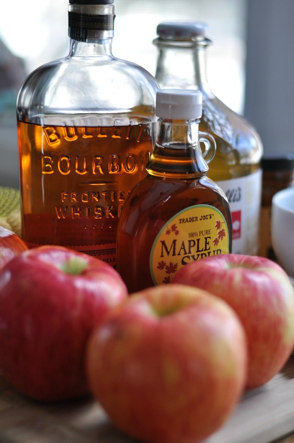 Apples and Maple Bourbon – KAE